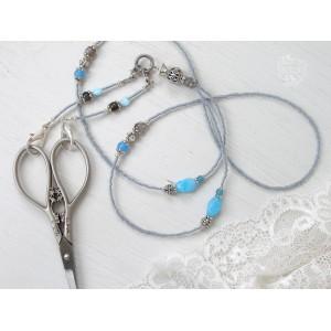 Шатлен, цепочка для ножниц, Factura Stitch