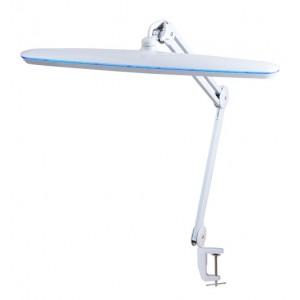 Бестеневая рабочая лампа на струбцине для вышивки и рукоделия