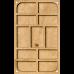 Органайзер для бисера с крышкой FLZB-049