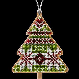 Набор для вышивания бисером по дереву FLK-135