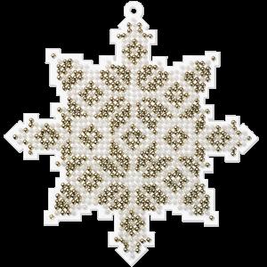 Набор для вышивания бисером на пластиковой основе FLPL-009