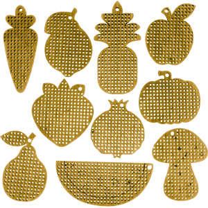 Набор заготовок для вышивания по дереву FLSW-002