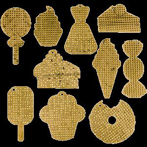 Набор заготовок для вышивания по дереву FLSW-003