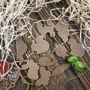 Набор заготовок для вышивания по дереву FLSW-005