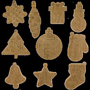 Набор заготовок для  вышивания по дереву FLSW-007