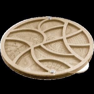 Органайзер для бисера с крышкой FLZB-034