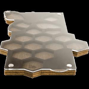 Органайзер для бисера с крышкой FLZB-041