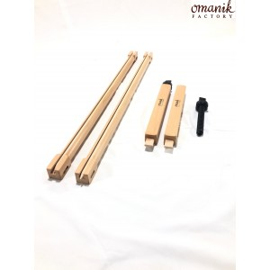 Рама «Quantum» 70×30 с боковыми натяжителями